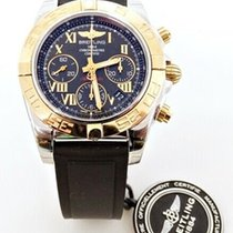 Breitling Chronomat 41 Gold/Steel 41mm Black Roman numerals