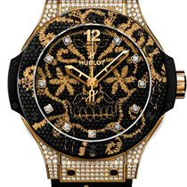 Hublot 343.VX.6580.NR.0804 Yellow gold Big Bang Broderie 41mm pre-owned