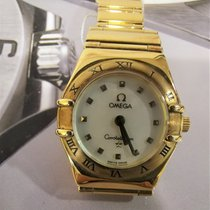 Omega Constellation Ladies Yellow gold 23mm Mother of pearl No numerals Singapore, 10 Admiralty Street #05-12 Northlink Building, Singapore 757695