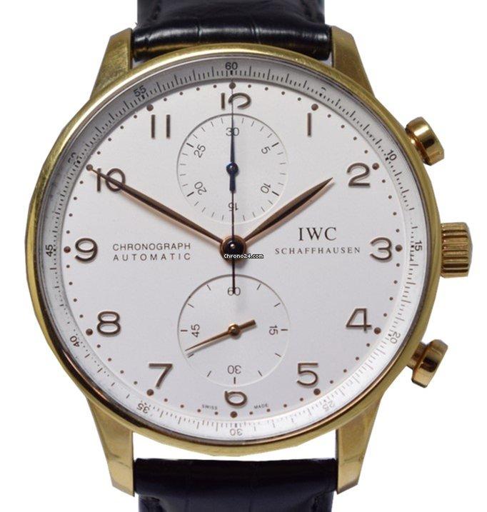 0eaa65ad427 IWC Portuguese Chrono Gold IW371402