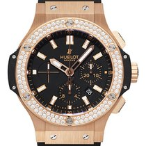 Hublot Big Bang Evolution 18k RG Diamond