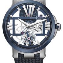 Ulysse Nardin Titanium Manual winding Transparent new Executive Skeleton Tourbillon