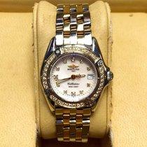 Breitling Callistino Gold/Steel 28mm Pink Arabic numerals United States of America, New York, New York
