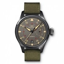 IWC Big Pilot Top Gun Miramar Ceramic 48mm Arabic numerals