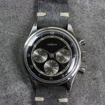 Lemania Vintage 27CH Gilt Chronograph