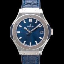 Hublot Classic Fusion Blue 581.NX.7170.LR new