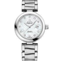 Omega De Ville Ladymatic Steel 34mm Mother of pearl