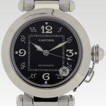 Cartier Pasha C Stahl 35.5mm Schwarz Arabisch Deutschland, Stuttgart