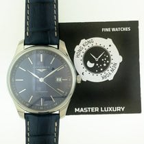 Longines Master Collection Steel 42mm Blue No numerals United States of America, New York, New York