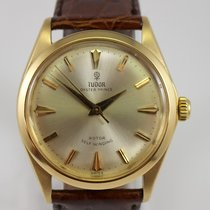 Tudor Oyster Prince Yellow gold 34mm Silver No numerals United States of America, Massachusetts, West Boylston