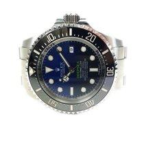 Rolex Sea-Dweller Deepsea pre-owned 44mm Black Date Steel
