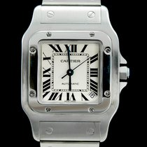 Cartier Santos Galbée occasion 35mm Acier