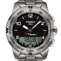 Tissot T-Touch II gebraucht Titan