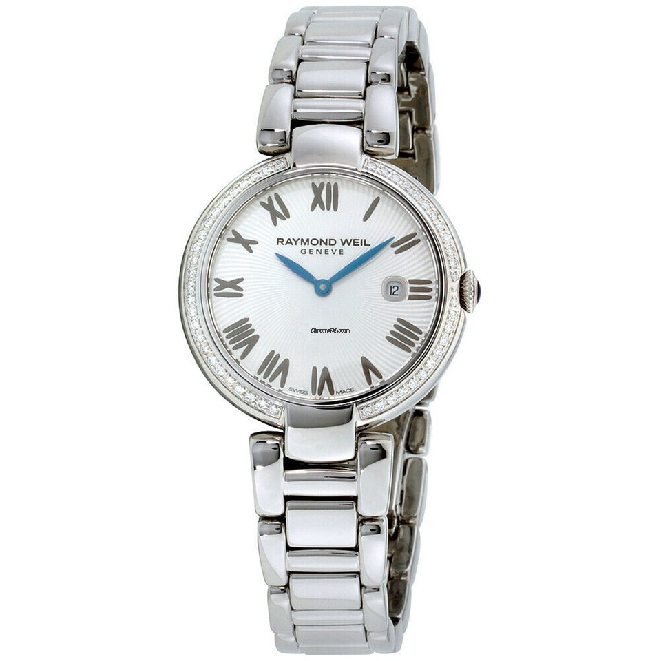 38192600c29b Raymond Weil Shine Silver Dial Stainless Steel Ladies Watch 1600-sts-00659