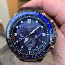 Seiko Astron GPS Solar Chronograph tweedehands 46.7mm Titanium