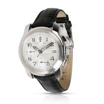 Baume & Mercier Capeland Steel 38mm Silver Arabic numerals United States of America, New York, New York