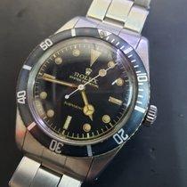 Rolex 6536 Сталь Submariner (No Date) 37mm подержанные