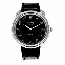 Hermès Arceau Steel 41mm Black