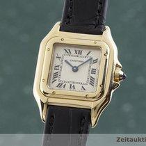 Cartier rabljen Kvarc 21.5mm Bjel Safirno staklo