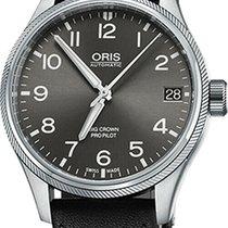 Oris Big Crown ProPilot Date Steel 41mm Grey Arabic numerals United States of America, New Jersey, Cherry Hill