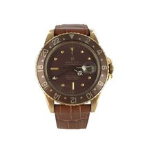 Rolex 1675 Yellow gold 1976 GMT-Master 40mm pre-owned