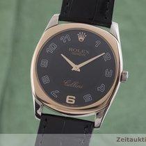Rolex Cellini Danaos 32.5mm Černá