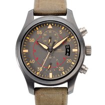 IWC Pilot Chronograph Top Gun Miramar Ceramic 46mm Grey United States of America, New York, New York
