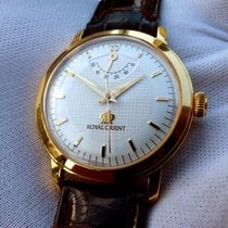 Orient Or jaune 35.5mm Remontage manuel WE0011EG occasion