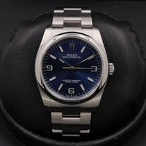 Rolex Oyster Perpetual 36 pre-owned 36mm Blue