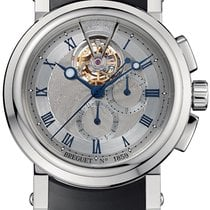 Breguet pre-owned Manual winding Silver 10 ATM