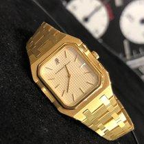 Audemars Piguet Жёлтое золото Кварцевые Белый 33mm подержанные Royal Oak Jumbo