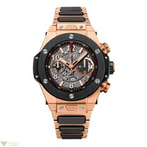 Hublot Big Bang Unico Automatic 18K Rose Gold Ceramic Men's Watch