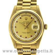 Rolex Day-Date String Diamonds and Rubies Dial 18038