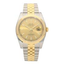 Rolex Datejust 116203 - Gents Watch - Champagne Dial - Unworn...