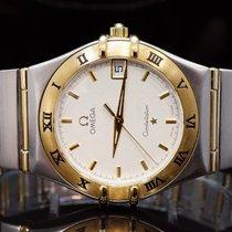 Omega 2003 Steel & Gold Constellation Quartz, Box & Papers...