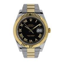 Rolex Datejust II Gold/Steel 41mm Black Roman numerals United States of America, New York, New York