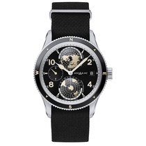 Montblanc Men's 117837 Geosphere Stainless Nato Automatic