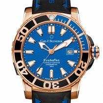 Carl F. Bucherer Red gold Automatic Blue 44.6mm new Patravi