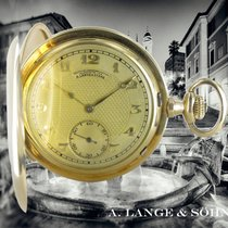 A. Lange & Söhne Yellow gold 52mm Manual winding pre-owned
