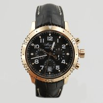 Breguet Chronograph 42mm Automatic 2010 pre-owned Type XX - XXI - XXII Brown