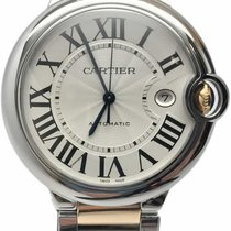 Cartier Steel 42mm Automatic W69009Z3 pre-owned