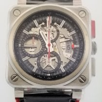 Bell & Ross BR 03-94 Chronographe Steel 42mm Transparent No numerals United States of America, Alabama, Oranjestad