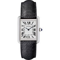 Cartier Tank Solo Steel 31mm Silver Roman numerals United States of America, New York, New York