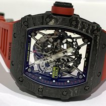 Richard Mille Carbone 44.5mm Remontage automatique RM35-02 CA occasion