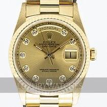 Rolex Day-Date 36 Gulguld 36mm Guld Sverige, Stockholm