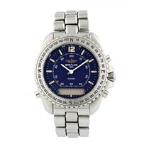Breitling Pluton Staal 41mm Blauw