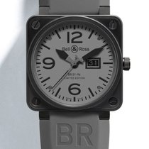 Bell & Ross Acier 46mm Remontage automatique BR01-96 Commando occasion France, LYON