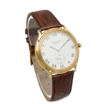 Favre-Leuba new Quartz Small Seconds 34mm Gold/Steel Mineral Glass