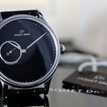 Jaquet-Droz Astrale Stål 43mm Sort