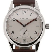 NOMOS Club Datum Steel 39mm Silver